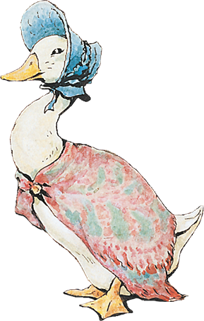An image of Jemima Puddle-duck