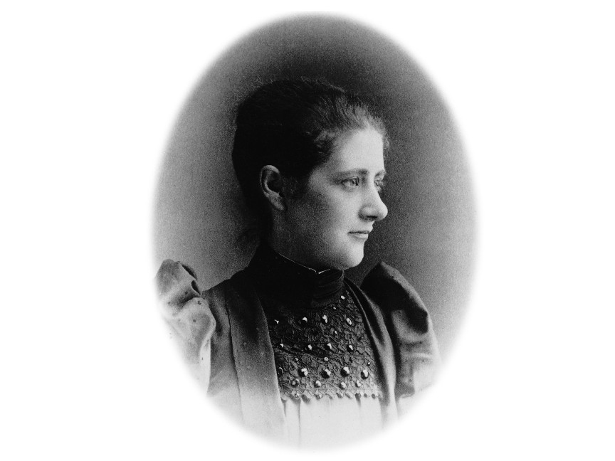 An image of Beatrix Potter aged 23 years old. Photo courtesy of V&A Museum.