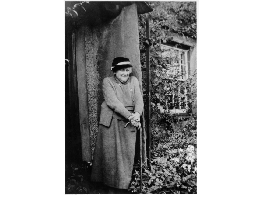 An image of Beatrix Potter, who died aged 77, leaving all of her land to the National Trust Photograph of Beatrix Potter courtesy of Frederick Warne & Co.