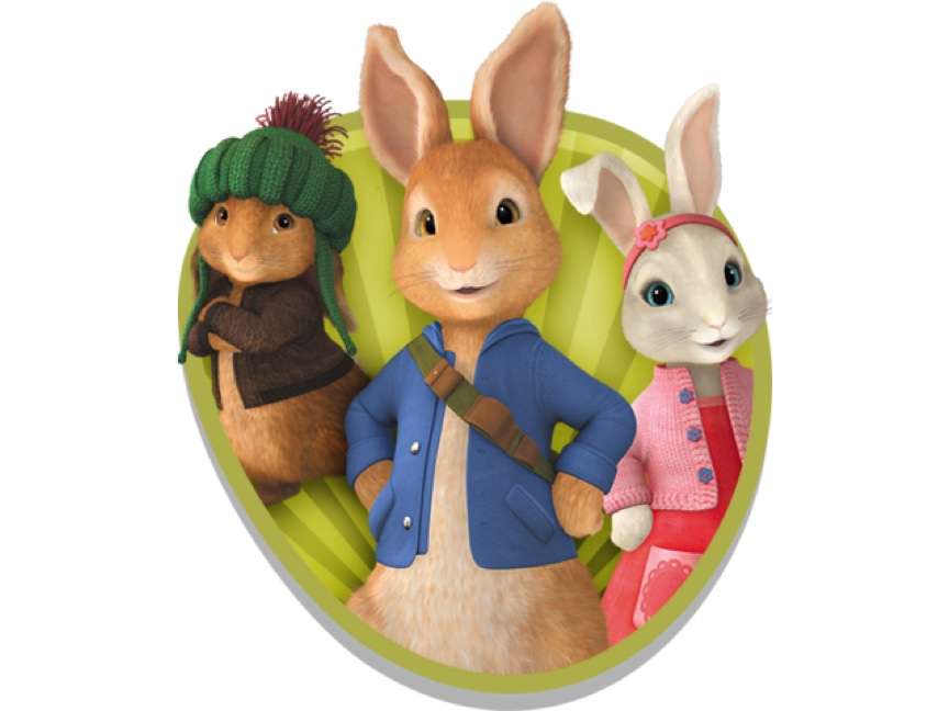 An image to show Peter and his friends and their preschool show for CBeebies which was launched in 2012.