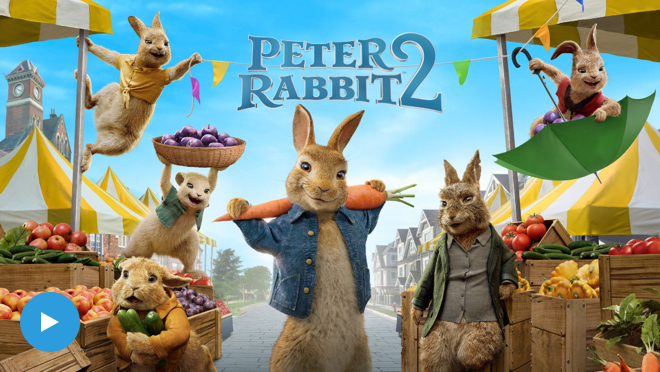 Click this image to watch the trailer from the Peter Rabbit 2 movie