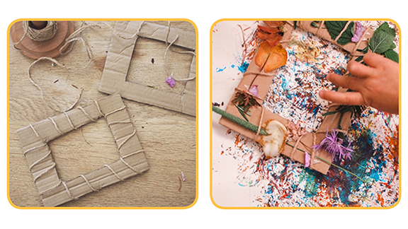A thumbnail image of the Nature Frames and Paint Brushes Activity Pack on the Peter Rabbit website